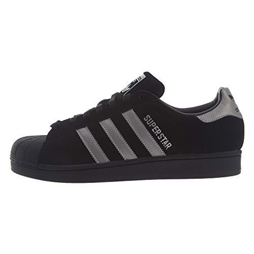 adidas Originals Men's Superstar Sneaker Running Shoe Core Black/Black/Core Black 10 D(M) US ()
