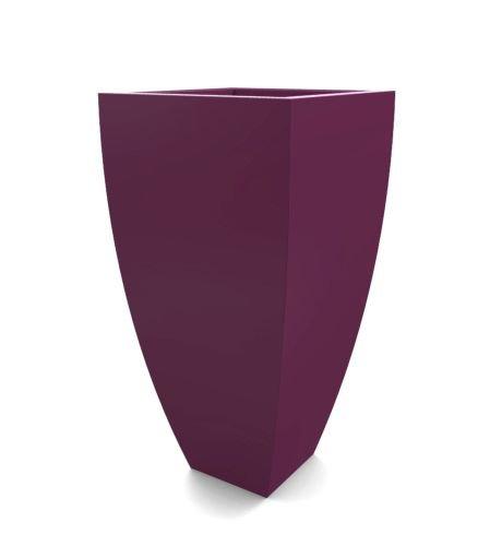 Decorpro D12011-5R-44 Corby Planter - Purple