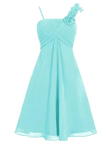 Homecoming Dress Spaghetti Mini Straps Flowers Bess Pool Bridal Women's Prom Chiffon wx0qgA4fp