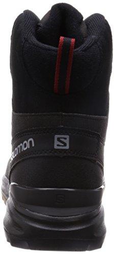 Salomon Asphalt black Flea L37281200 Senderismo Botas De Negro Hombre OOqZrUS