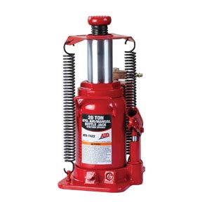 ATD Tools 7422 Air Actuated Bottle Jack - 20 Ton Capacity by ATD Tools