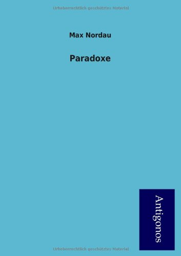 Read Online Paradoxe (German Edition) pdf