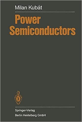 Power Semiconductors: M  Kubat: 9783662024201: Amazon com: Books