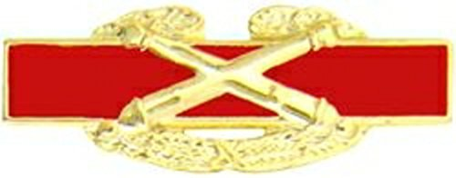US Army Combat Artillery Crossed Cannons Pin (small 1 1/2