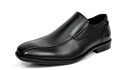 Bruno+MARC+DP01+Men%27s+Loafers+Dress+Classic+Formal+Oxfords+Slip+On+Leather+Lining+Modern+Shoes+BLACK+SIZE+10.5