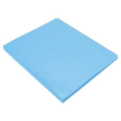 Presstex Grip Punchless Binder with Spring-Action Clamp [Set of 2] Color: Light Blue