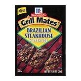 Grill Mates Brazilian Steakhouse 6-1.06 oz packs -