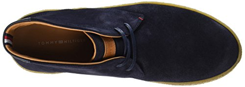 Uomo Sneaker a L2285ogan Blu Alto Midnight Collo Hilfiger Tommy Fm0fm00859 2b 403 Bp0qSnFO