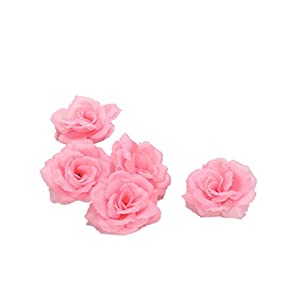 Smartcoco 5Pcs Silk Rose Artificial Flower DIY Wedding Corsage Wreath Home Furnishings Handicrafts 114