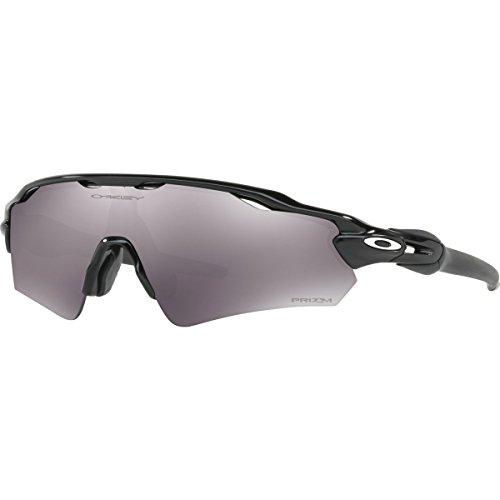 Oakley Men's Radar Ev Path (a) Non-Polarized Iridium Rectangular Sunglasses, Polished Black, 35.02 - Iridium Radar Black Oakley Path