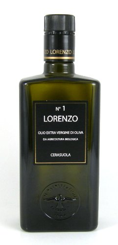 Barbera Lorenzo #1 (6 pack) Organic Extra Virgin DOP Oilive Oil 500ml bottles from Sicily, Italy