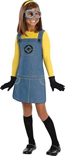 Despicable Me Minion Costume Goggles (Despicable Me 2 Female Minion Kids Costume, Medium)