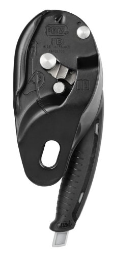 Petzl Pro I'D L Descender - Black by PETZL (Image #1)