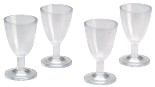 25 Years Wine - Timeless Miniatures-Wine Glasses 4/Pkg
