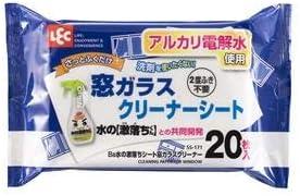 (まとめ) Ba 水の激落ちシート/ウェットシート 【窓ガラスクリーナー 20枚入り】 窓ガラス掃除 掃除用品 【60個セット】