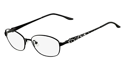 Eyeglasses MARCHON TRES JOLIE 149 001 BLACK SILVER from MarchoNYC