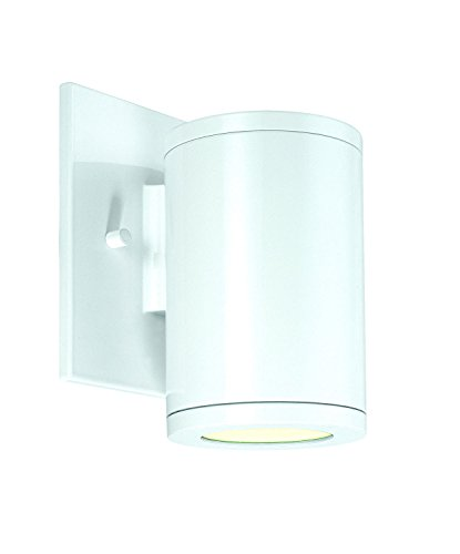 CSL Lighting SS1020B-WT Silo Collection 1 Light Transitional Single Wall Mount White Finish