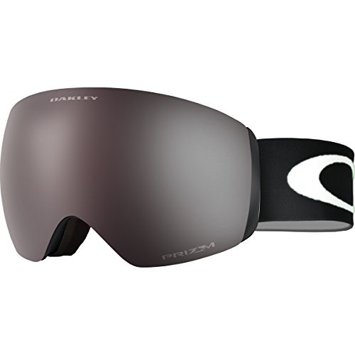 Oakley OO7064-21 Flight Deck XM Eyewear, Matte Black, Prizm Black Iridium - Rimless Oakley Goggles