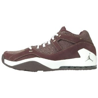 Jordan Su Trainer Mens Sneakers (diep Bordeaux / Plat Zink-wit) 9