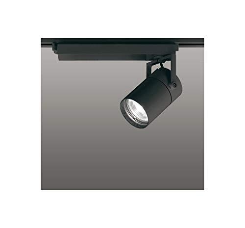 ODELIC LEDスポットライト 高彩色タイプ 配線ダクトレール用 CDM-T70W相当 ブラック スプレッド 温白色 3500K 専用調光リモコン対応(リモコン別売) XS511128HBC   B07RS1WCTF