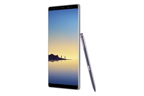 Samsung SM-N950UZVAXAA Galaxy Note8 (US Version) Factory Unlocked Phone – 6.3″ Screen – 64GB – Orchid Gray (U.S. Warranty)