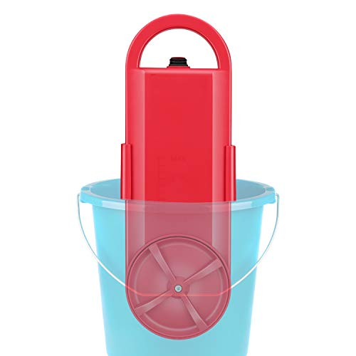 Portable Washing Machine | Handy Washing Machine | Mini Washer | Bucket Use | Travel & Outdoor Electric Compact Washer |Suitable for Single Person, Bachelors, Hostel Peoples | RED by Tonha (Best Economical Washer And Dryer)
