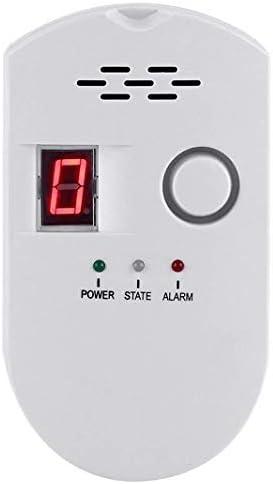 Natural Gas Detector, Gas Leak Detector, Household Propane Leak Detector, Propane Leak Detector, Natural Gas Leak Detector (White) (1, White)