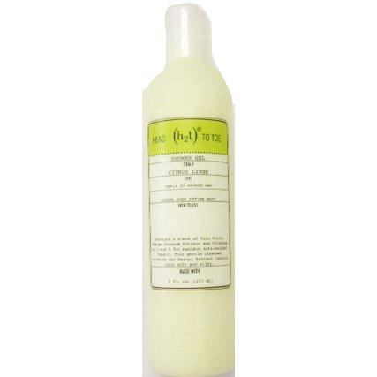 Citrus Scented Body Wash (H2T Shower Gel, Citrus Linen)