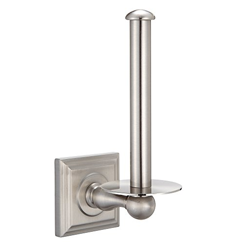 Designers Impressions Aurora Series Satin Nickel Vertical To