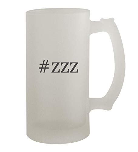 #zzz - 16oz Hashtag Frosted Beer Mug Stein, Frosted