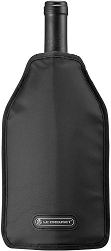 Le Creuset WA126L-31 Wine Cooler Sleeve, Black by Le Creuset