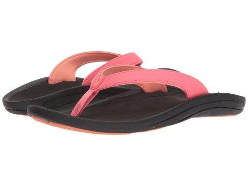 Olukai(オルカイ) レディース 女性用 シューズ 靴 サンダル Kulapa Kai W - Guava Jelly/Black 11 B - Medium [並行輸入品]