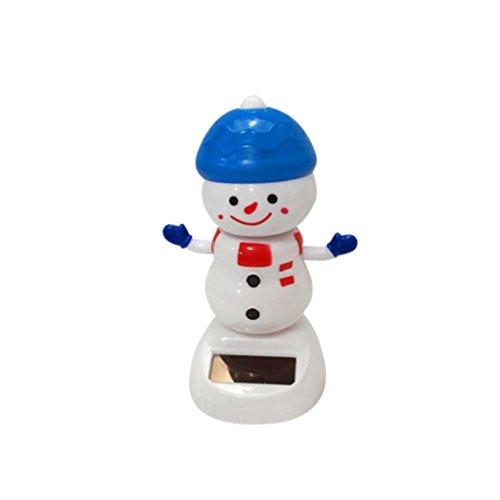 Dancing Snowman (GTIA Solar Power Dancing Snowman Novelty Toys Gift Desk Car Toy Ornament)