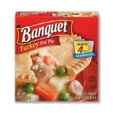 (Conagra Banquet Turkey Pot Pie, 7 Ounce -- 24 per case.)