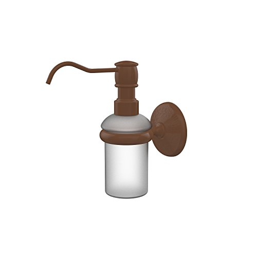 Allied Brass MC-60-ABZ Monte Carlo Collection Wall Mounted Soap Dispenser, Antique Bronze ()
