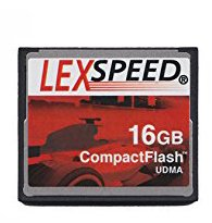 LexSpeed Compact Flash Card 16GB UDMA HD Ready by LexSpeed