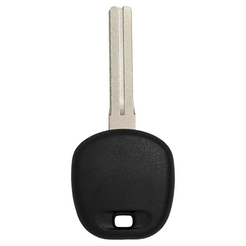 (Keyless2Go New Uncut Replacement Transponder Ignition Car Key 4C Chip TOY48BT4)