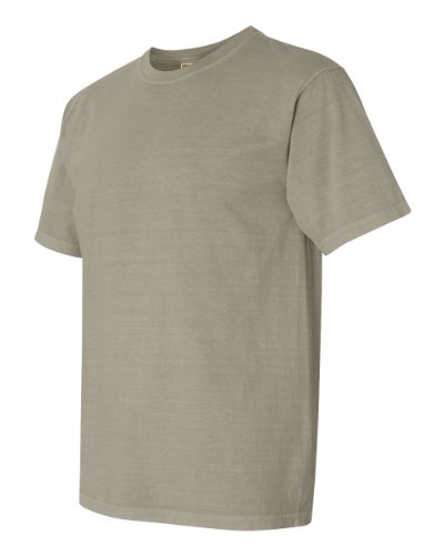 Comfort Colors Pigment-Dyed Short Sleeve Shirt Small Sandstone (Twill Shirt Sandstone)