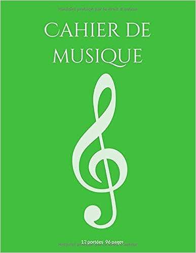 Cahier Musique: Papier