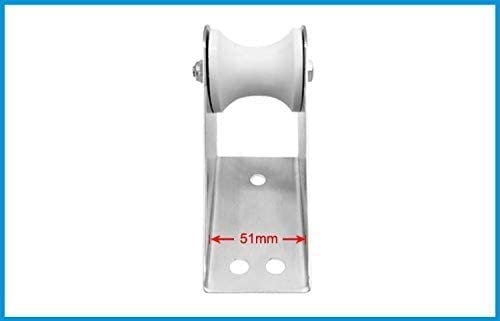 Made Stainless Steel 316 Bow Anchor Roller Fixed Yacht Accessories