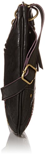 Desigual BOLS_BROOKLYN AUDREY Bolso de hombro de material sintético mujer Multicolor (Marron 6000)