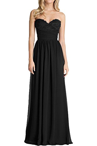 Abschlussballkleider lang schwarz - Stylische Kleider für ...