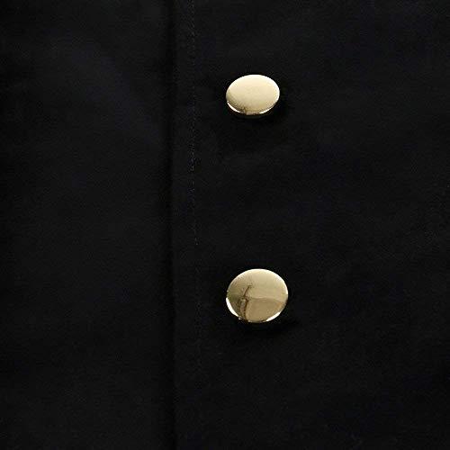 Jacket Punto Gothic Victoriana Tuxedo Uniform Long Coat Cómodo Steampunk De Vintage Chaqueta Battercake Schwarz Cosplay Chaqueta PECqHB