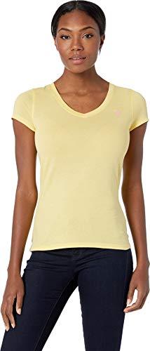 U.S. Polo Assn. Women's Tonal Embroidered T-Shirt Limoncella Small ()