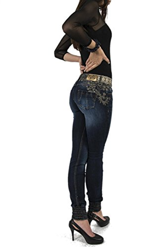 Desigual DENIM BROWNIE DENIM PUNOS Damenjeans