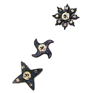 Rubber Stars Set of 3 ()