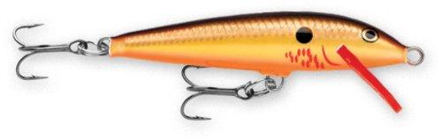 Rapala Original Floater 11 Fishing lure (Bleeding Copper Flash, Size- - Copper Flash