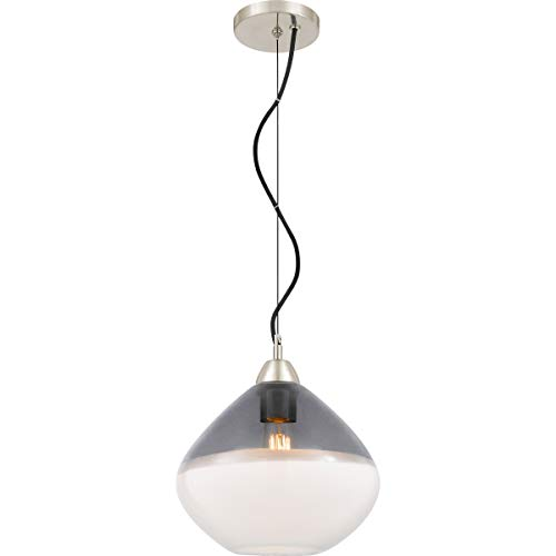 (Quoizel Piccolo Pendant 1-Light Mini Pendant in Brushed Nickel)