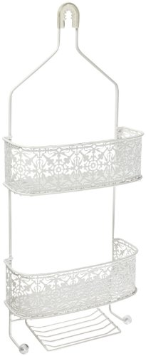 Taymor Lace Shower Caddy, Antique White by Taymor Industries