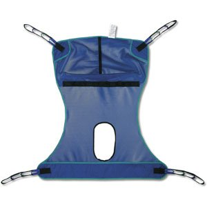 Invacare Compatible Mesh Full Body Sling with Commode Opening - X-Large 450 lb. (204 kg) max by Invacare